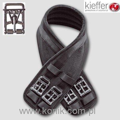Popręg AIR TEX ujeżdżeniowy z opaskami - Kieffer