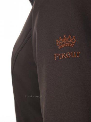 Kurtka Pikeur LUCILLA softshell z kolekcji PREMIUM - dark brown