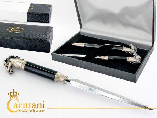 Długopis + nóż do listów z motywem konia