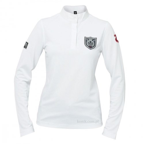 Damska koszula konkursowa COOL długi rękaw - HORZE