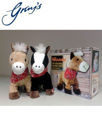 Rżący i kłusujący koń WOODY - GRAY'S