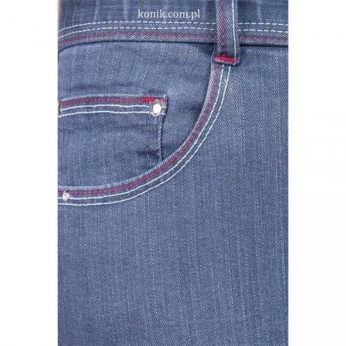 Bryczesy PERTH z pełnym lejem jeans - START