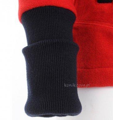 Bluza polarowa LAILA red - SPOOKS