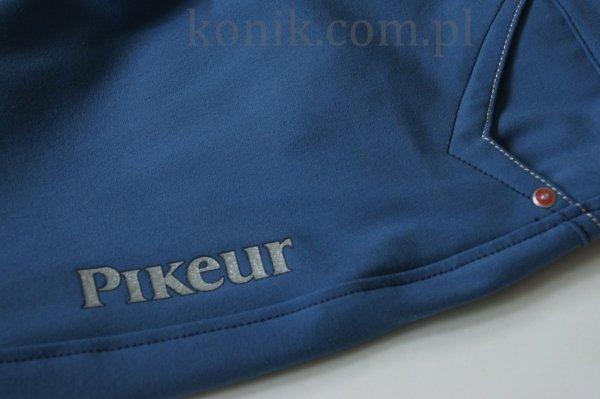 Bryczesy dziewczęce Pikeur PATRIZIA kontrast - niebieskie/granatowy lej