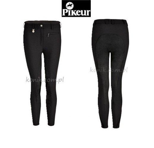 Bryczesy Pikeur LUCINDA softshell - czarne