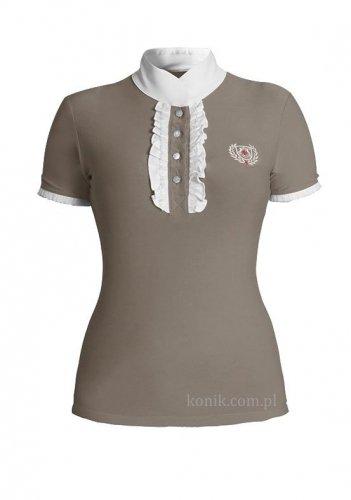 Koszula konkursowa CHARLOTTE beżowa - FAIR PLAY