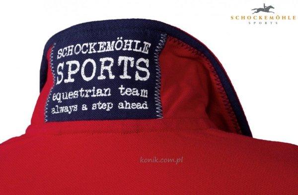 Koszulka męska JACOB - Schockemohle - chili