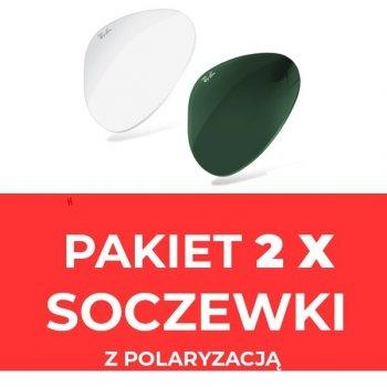 Soczewki z polaryzacją- komplet (2szt) do okularów Ray-Ban® i inne*