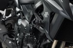 CRASH PADY KOMPLETNY ZESTAW DO YAMAHA MT-03 (16-)/SUZUKI GSX-S750 (17-) BLACK SW-MOTECH