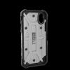 UAG Plasma - obudowa ochronna do iPhone X (czarna przeźroczysta)