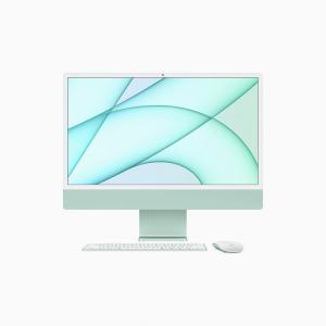 Apple iMac 24 4,5K Retina M1 8-core CPU + 7-core GPU / 16GB / 256GB SSD / Zielony (Green) - 2021