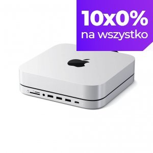 Satechi Podstawka-Hub do Mac Mini z obudową SSD Srebrny