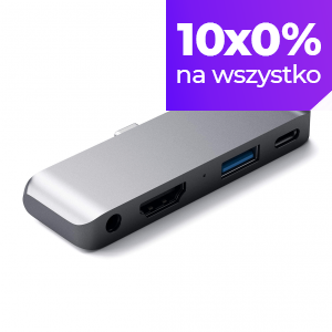 Satechi USB-C Mobile PRO HUB do iPada Pro Space Gray (gwiezdna szarość)