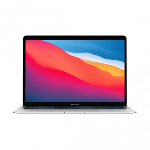 MacBook Air z Procesorem Apple M1 - 8-core CPU + 7-core GPU / 8GB RAM / 256GB SSD / 2 x Thunderbolt / Silver (srebrny) 2020 - nowy model