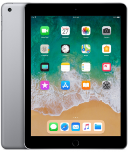 iPad 6-gen 9,7 128GB Wi-Fi Space Gray