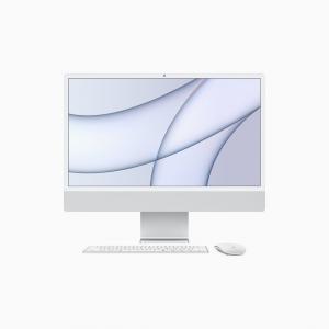 Apple iMac 24 4,5K Retina M1 8-core CPU + 7-core GPU / 8GB / 256GB SSD / Srebrny (Silver) - 2021