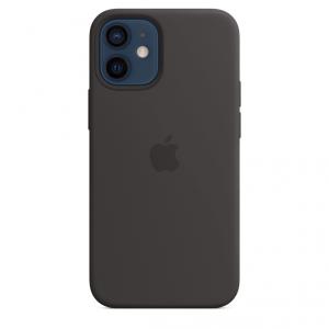 Apple Silikonowe etui z MagSafe do iPhone'a 12 / 12 Pro – czarne