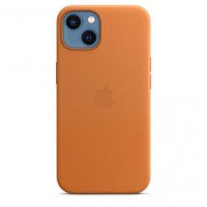 Apple Skórzane etui z MagSafe do iPhone'a 13 – złocisty brąz