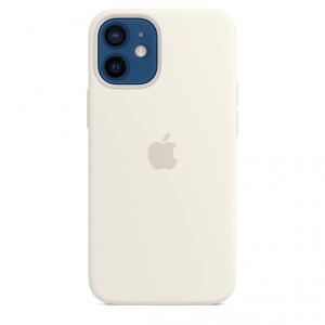 Apple Silikonowe etui z MagSafe do iPhone'a 12 mini – białe