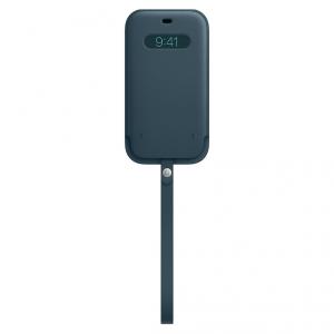 Apple Skórzany futerał z MagSafe do iPhone'a 12 Pro Max - bałtycki błękit