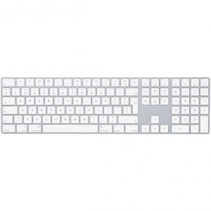 Apple Magic Keyboard z polem numerycznym Silver (srebrny)