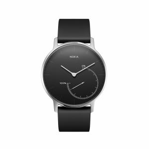 NOKIA Activité Steel - zegarek monitorujący aktywność fizyczną i sen iOS i Android (czarny)