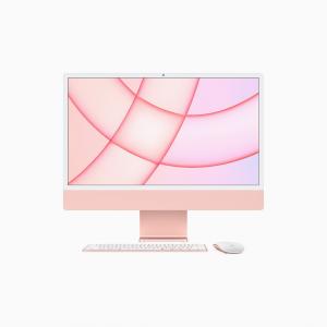Apple iMac 24 4,5K Retina M1 8-core CPU + 8-core GPU / 16GB / 256GB SSD / Różowy (Pink) - 2021