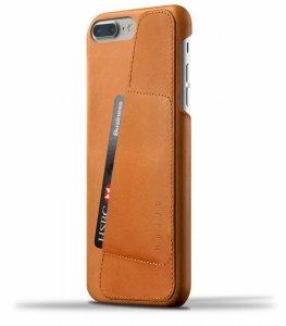 Mujjo Full Leather - etui skórzane do iPhone 8/7 Plus (brązowe)