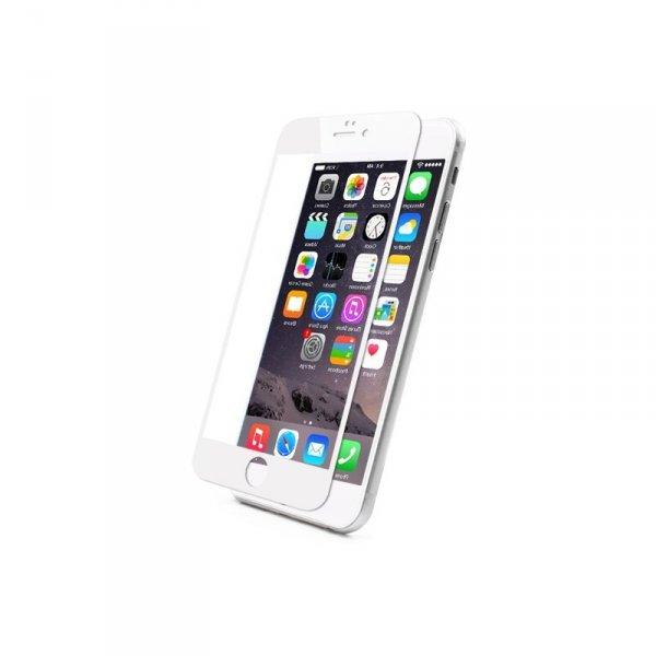 KMP Szkło ochronne na iPhone 6S Plus/6 Plus (biały)