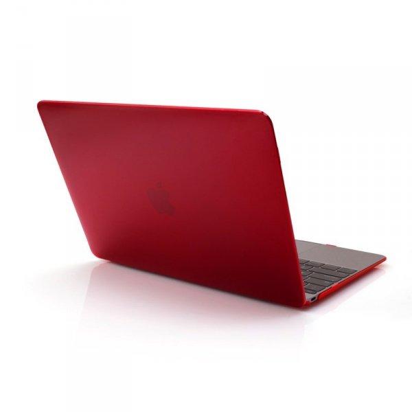 KMP Etui MacBook 12 - Czerwony