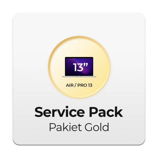 Service Pack - Pakiet Gold 2Y do Apple MacBook Air i Pro 13