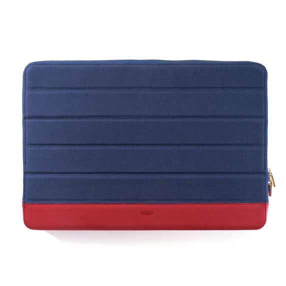 KMP Sleeve Pokrowiec do MacBook Pro 13 / iPad Pro 12,9 Blue / Pink (niebieski/różówy)