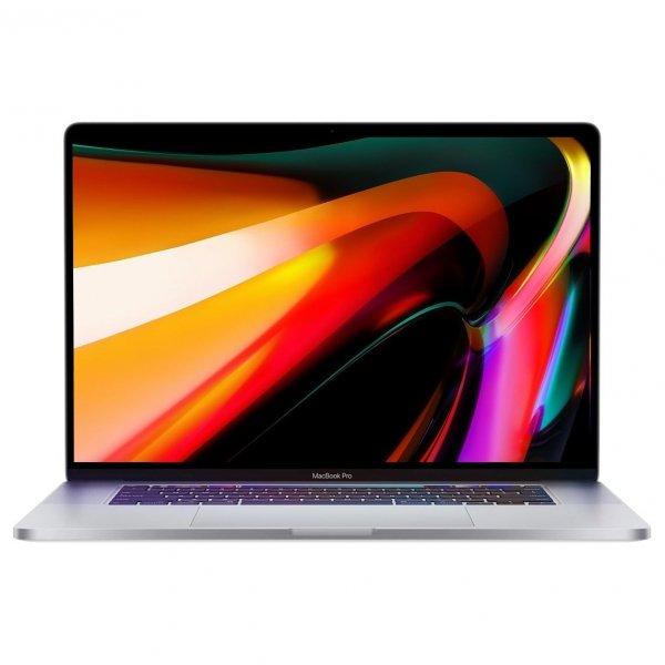 MacBook Pro 16 Retina Touch Bar i9-9880H / 16GB / 8TB SSD / Radeon Pro 5500M 8GB / macOS / Silver (srebrny)