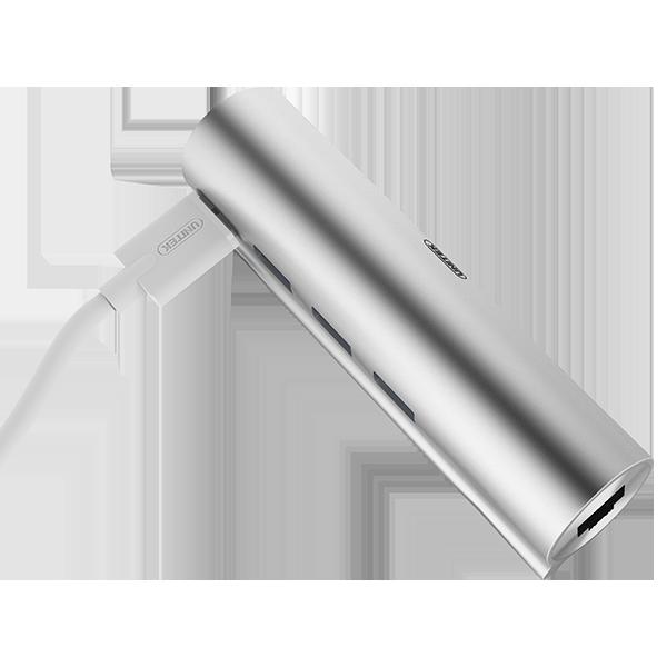 HUB Unitek USB-C do USB 3.0 + Gigabit Ethernet