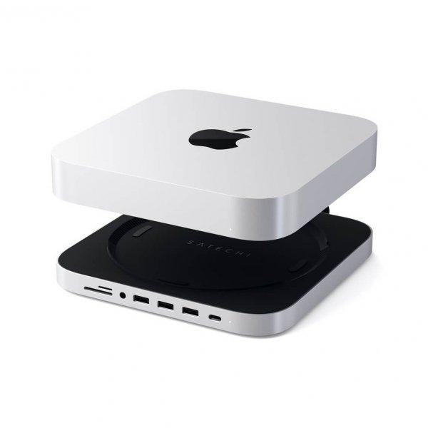 Satechi Podstawka-Hub do Mac Mini Srebrny