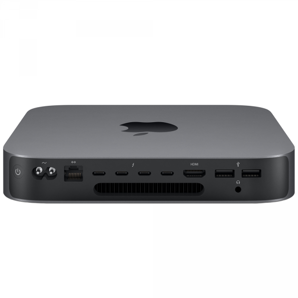 Mac mini i7-8700 / 32GB / 256GB SSD / UHD Graphics 630 / macOS / Gigabit Ethernet / Space Gray