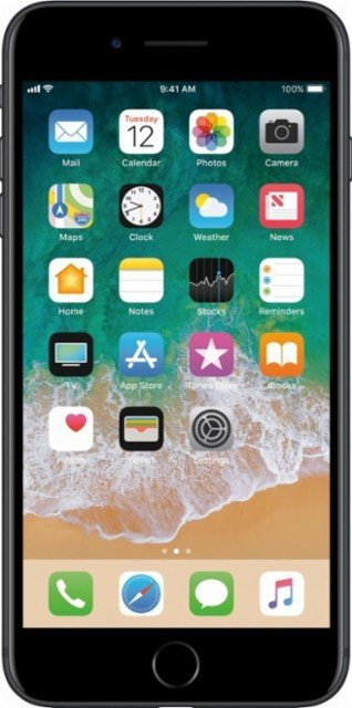 Apple iPhone 7 Plus 256GB 3D Touch Retina Black