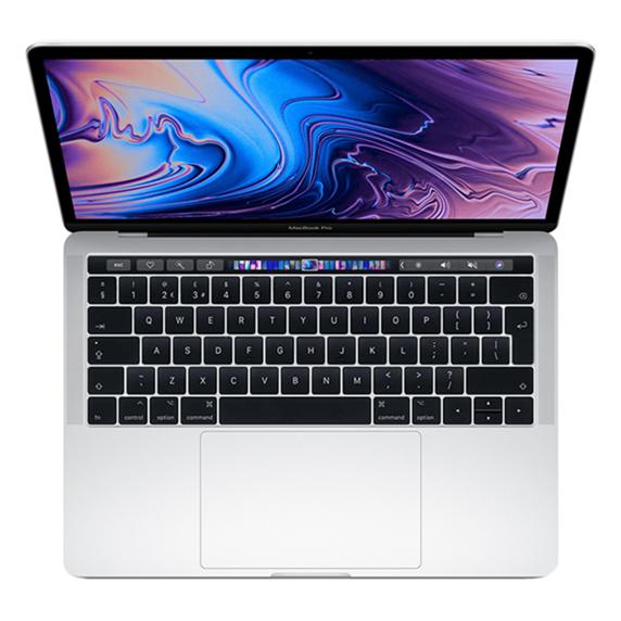 MacBook Pro 13 Retina Touch Bar i7 2,8GHz / 16GB / 512GB SSD / Iris Plus Graphics 655/ macOS / Silver (2019)