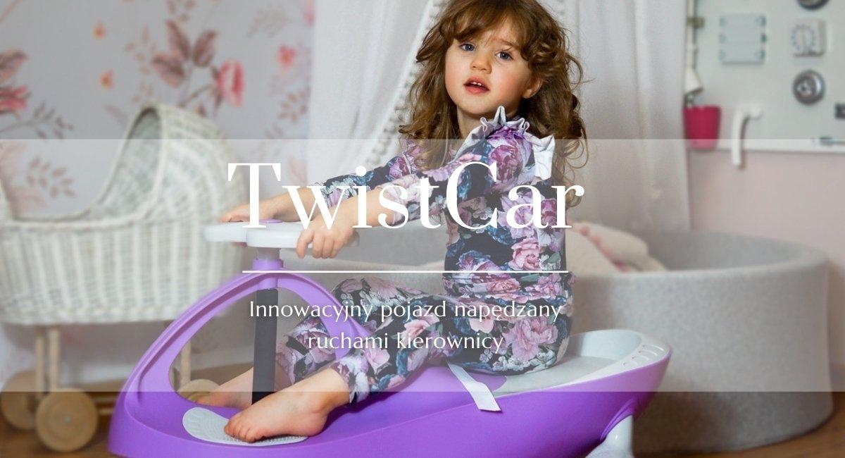 TwistCar - Innowacyjny pojazd napędzany ruchami kierownicy