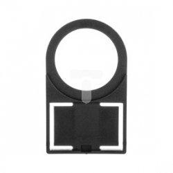 Szyld opisowy na etykietkę 17,5x28mm czarny 3SB3925-0AV