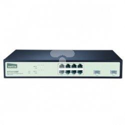 Switch Rack 19'' 8-port 1GB + 2 porty SFP 1GB/SFP zarządzany SNMP ST3310GF