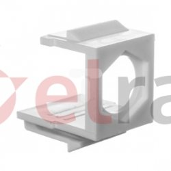 Uchwyt keystone dla złączy typu F niewyposażony DN-BLIND-F EP0002689