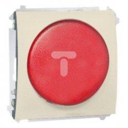Simon Classic Sygnalizator świetlny LED – światło czerwone 230V beż MSS/2.01/12 WMCS-020x2x-9013