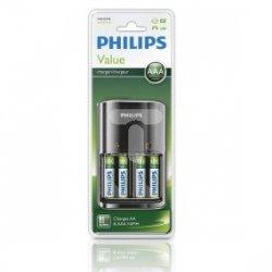 Ładowarka akumulatorów AA / AAA SCB 1450 /+ 4akumulatory AA 800mAh/