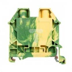 Złączka szynowa ochronna 0,5-6,0mm2 żółto-zielona DK6N-PE 89108319