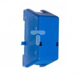 Zacisk połączeniowy 125A 2x35mm2 z pokrywą niebieski ZP-0001/A 84205003