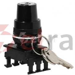Napęd pokrętny z kluczem 0-1 30 st. /bez samopowrotu/ czarny HK85C3 004770105