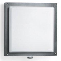 Oprawa LED z czujnikiem ruchu 8 metrów 360 stopni 16W 320lm ciepło-biała IP44 antracyt szkło PIR numeryczna L 690 LED A 671617