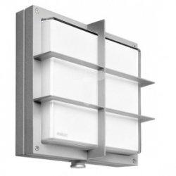 Oprawa LED z czujnikiem ruchu 8 metrów 360 stopni 16W 350lm ciepło-biała IP44 alu-srebrny PMMA PIR numeryczna L 691 LED S 672218