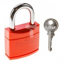 Kłódka 40 mm powlekana 2 klucze 90U286